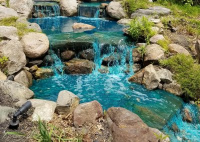 Gallery -Pond and Waterfall-Large